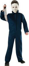 CHILDRENS MICHAEL MYERS HALLOWEEN SCARY HORROR FEAR HAUNTED COSPLAY COSTUME M,L