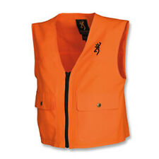 Browning Buckmark 305500010 Junior Blaze Orange Polyester Safety Vest