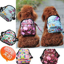 NEW Cute Cozy Fashion Pet Backpack school bag Dog Puppy size S/M/L C721-724