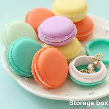 Mini Macarons Shaped Storage Case Container Jewelry Pill Organizer Tool