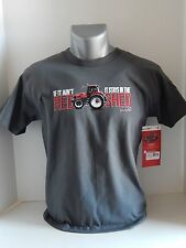 "Case IH ""If It Ain't Red It Stays In The Shed"" Youth Boys Gray T-Shirt"