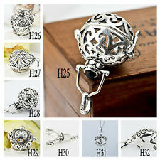 Silver Plated Locket Angel Caller Mexican Pendant Harmony Ball CAGE ONLY