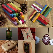 5Pcs Multi Color Sealing Wax Stick Envelope Stamp Letter Seal Candle Invitation