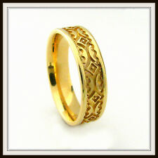 18 KT SOLID YELLOW GOLD  CUSTOM MADE WEDDING BAND FOR MEN AND LADIES  DE 0018