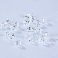 Fashion DIY jewelry 3mm/4mm Glass Crystal #5301 Bicone beads 100/1000pcs