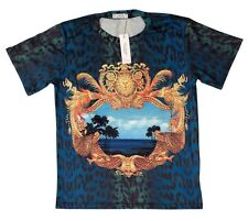 Brand New Authentic Green Miami Ocean View Versace T-Shirt Sizes M,XL