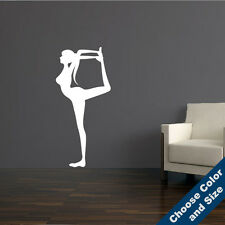 Lord of the Dance Pose Wall Decal - Yoga Vinyl Sticker