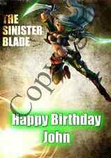League of Legends Personalised Birthday cards/ any occasions