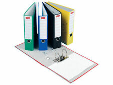 Strong A4 Polypropylene Lever Arch Files Large Office Paper Storage FolderColour