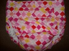 Dependeco All In One cloth adult baby diaper S/M/L/XL (pink symetry)