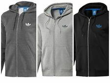 ADIDAS MENS ORIGINALS SPO FLEECE HOODIE ZIPPED NEW TRACKSUIT TOP 100% GENUINE