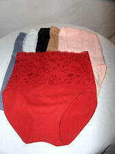 Rhonda Shear's Women's Lace Panty/Briefs Shapers Multi Colors and Sizes.