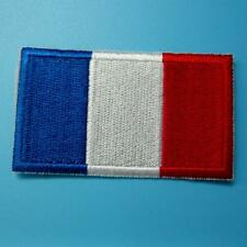 1 France Flag French Iron On Sew Patch Applique Badge Embroidered Biker Applique