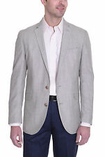 Kenneth Cole Slim Fit Heather Tan Two Button Blazer Sportcoat