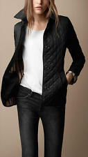Burberry Brit women's black copford heritage diamond quilted jacket  xs,s,m,l xl