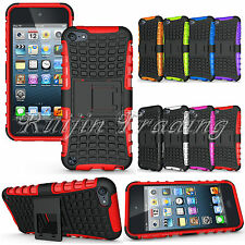 Hybrid Heavy Duty Impact Hard Case Cover Stand For Apple iPod Touch 5 5th Gen