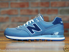 New Balance ML574HRH Pique Polo Pack Men's Chambray 574