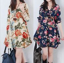 New Sexy Women Fashion Summer Sleeve Party Evening Cocktail Floral Mini Dress