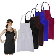 Chef Apron Cook Waist Cloth w/ Pockets for Kitchen Restaurant Butcher Gardening