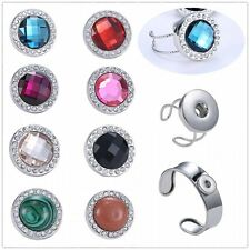 Wholesale punk snap chunk charms Fashion bracelet for chunk snap button Bracelet