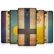 HEAD CASE BANDIERE VINTAGE SET 2 CASE PER SONY XPERIA V LT25i