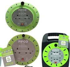 Eurosonic/Brand New Heavy Duty 5/10/25M 10 AMP Electrical Extension Cable Reel