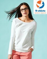Next Level 6931 Ladies Terry Long Sleeve Scoopneck T-Shirt - 6931, NEW on SALE!