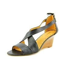 Nine West Ronton Leather Wedge Sandals Shoes New/Display