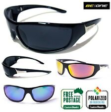 POLARISED Sunglasses - BE:ONE EYEWEAR - Slim Wrap Around Frame - Ex Quality