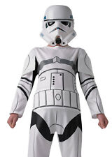 STORMTROOPER STAR WARS Boys Superhero Sci Fi Fancy Dress Costume 610485