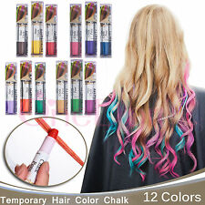 Joyous Professional Temporary Hair Dye  Hair Color Chalk & Pens Touch-up 3 Packs