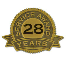 28 Years of Service Award Lapel Pin