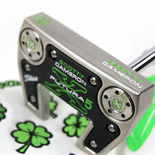 CUSTOM Scotty Cameron mallet Putter FUTURA X5 The Clover Edition with headcover
