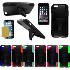 "Hybrid Dual Layer Kickstand Phone Cover Case for Apple iPhone 6 Plus (5.5"")"