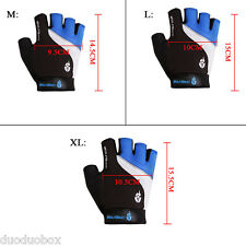 Wolfbike Mountain Bike Bicycle Cycling 3D GEL Adjustable Half Finger Gloves Hot