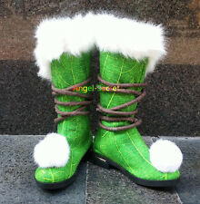 ATK10 Tinkerbell boots furry shoes for travelling costume shoes tailor made