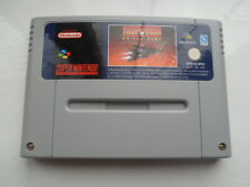 Turn And Burn No Fly Zone. Nintendo SNES. PAL. Cart Only