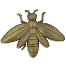Bee Insect Antique Bronze Lapel Pin