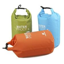 Waterproof Drift Floating Canoe Camping Swimming Beach 5L Dry Storage Bag Sack