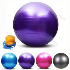 Sports Home Personal Fitness Exercise GYM Pilates Yoga Equipment Balance Ball AU