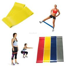 Resistance Loop Band Exercise Workout Strength Weight Fitness Yoga Sport 5 Level