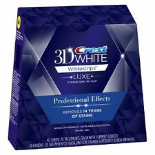 Crest3D Whitestrips LUXE Professional Effect