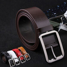 Classic Casual Men's Belt Genuine leather New Style Waistband Wide Belt Fashion