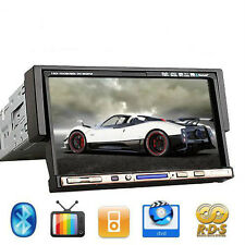 """SALE Single 1 Din 7"""" Touch Car Stereo DVD Player CD Ipod TV Mp3 Bluetooth Radio"""