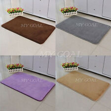 Absorbent Soft Memory Foam Mat Bathroom Rug Shower Non-slip Floor Carpet 40x60cm