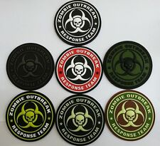 JTG - Zombie Outbreak Response Team Patch - 3D Rubber Patch