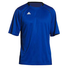 New with Tags Men's Adidas Climalite SS Varsity Performance Shirt-Royal Blue
