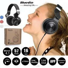 Bluedio T2 Turbine Wireless Stereo Bluetooth 4.1  Headset Headphone Earphone MIC