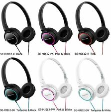 Genuine PIONEER headphones SE-MJ512 Closed Back Foldable Compact From Japan NEW