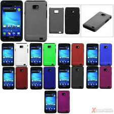 For AT&T SAMSUNG i777(Galaxy S II) Solid Fusion Silicone Case Cover